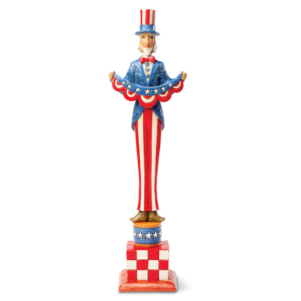 Tall Uncle Sam Statue