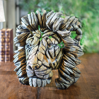 Edges Lion Bust