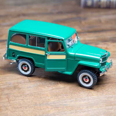 1955 Green Willys Jeep