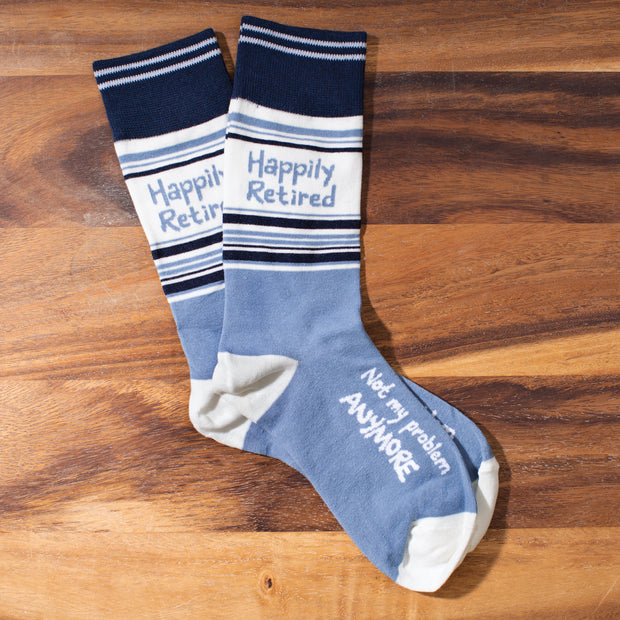 Happily Retired Socks
