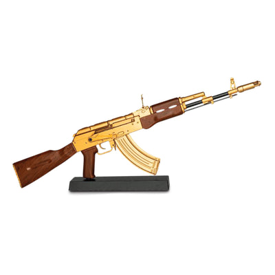 Gold Mini AK47 Model