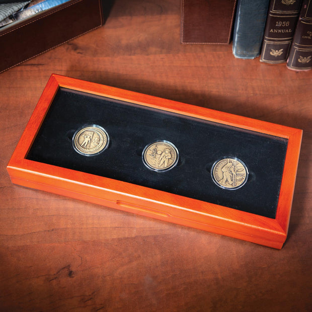 Moon Landing 3 Coin Set
