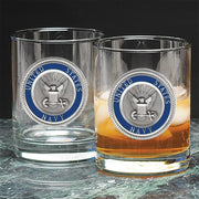 US Military Old Fashioned Glasses