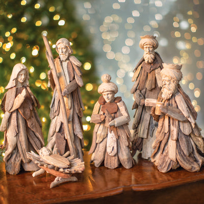 Drift Wood Nativity