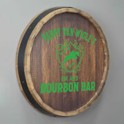 Light Up Bourbon Bar Sign Personalized