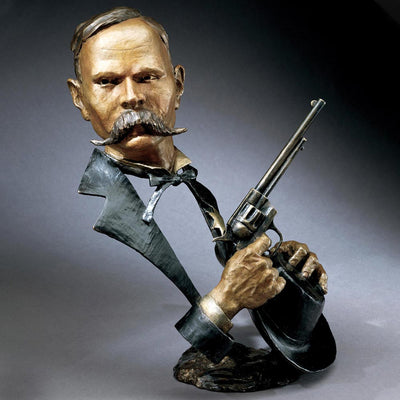 Mark Hopkins Wyatt Earp Sculpture