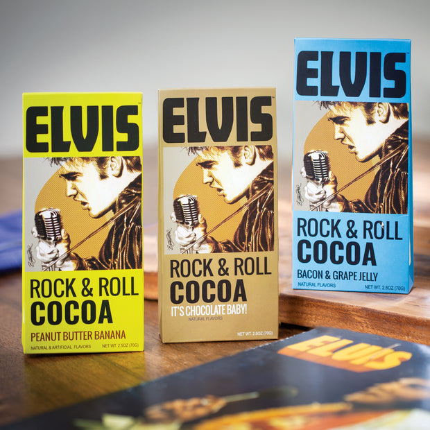 Elvis Rock & Roll Cocoa Set
