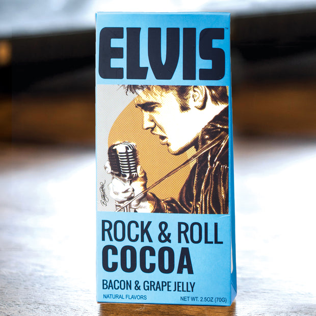 Elvis Rock & Roll Bacon and Grape Cocoa