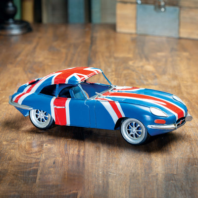 1961 E-Type Jaguar Model Car