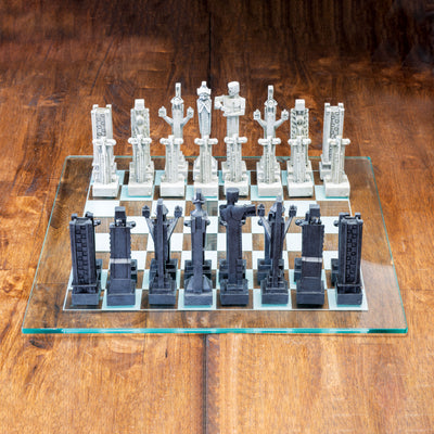 FLW Midway Gardens Chess Set