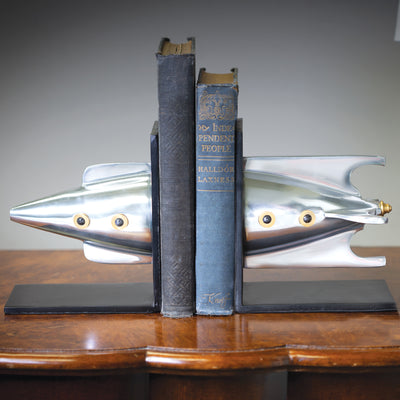 Rocket Bookends