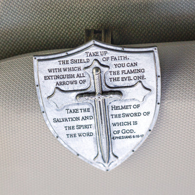 Armor of God Visor Clip