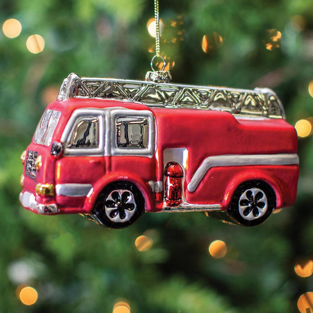 Fire Engine Ornament