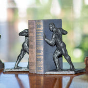 Greek Athlete Bookends
