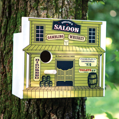 Personalized Saloon Birdhouse