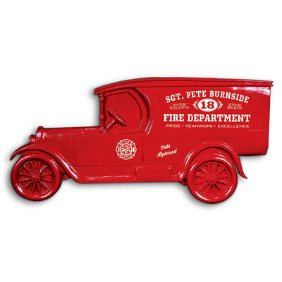 Fire Dept. Personalized Model T Truck