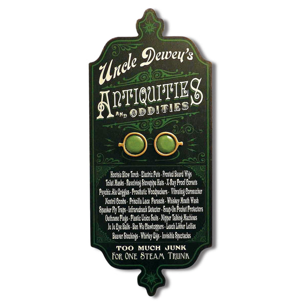 Antiquities and Oddities Personalized Dubliner Sign