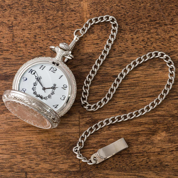 1878 Uncirculated First Year Morgan Pocket Watch