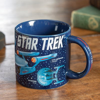 Starships of Star Trek Mug