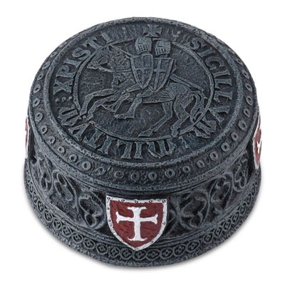 Knights Templar Seal Trinket Box