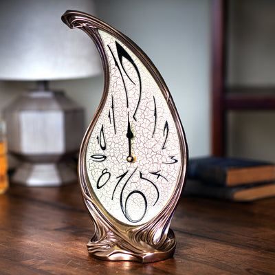 Tear Drop Shaped Melting Clock