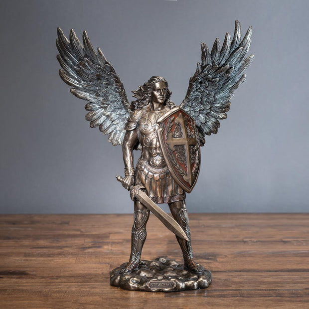 Archangel Saint Michael with Sword and Shield
