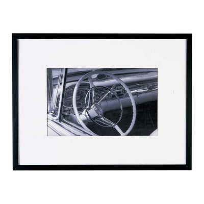 Automobile Attraction Interior Framed Photo