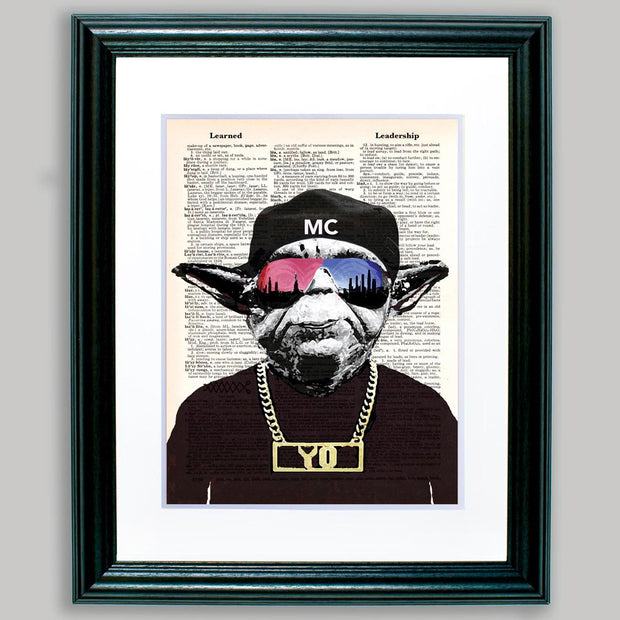 Mc Yo Framed Print