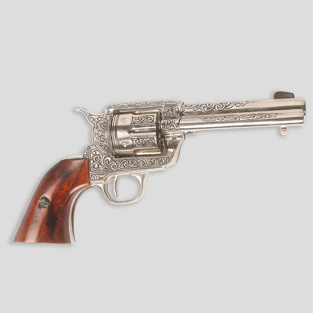 M1873 Engraved Fast Draw Revolver Replica