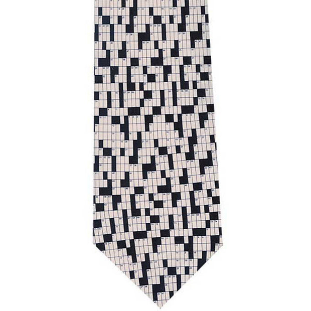 Crossword Puzzle Tie