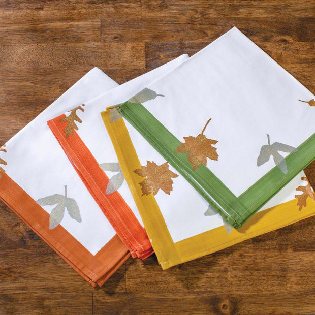 Elegant Four Leaf Napkin Set