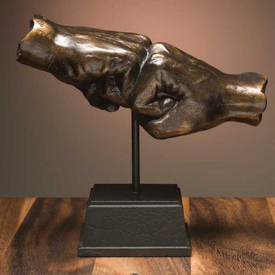 Fist Bump Sculpture