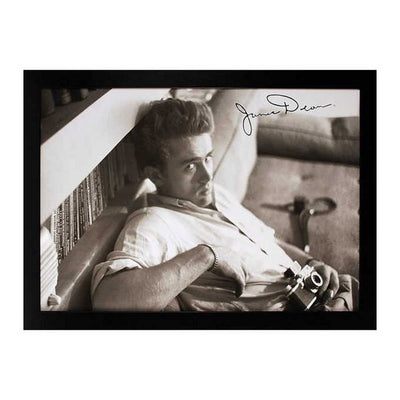 Framed James Dean Image