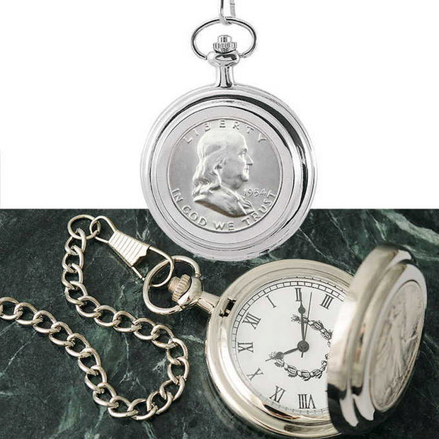 Franklin Half Dollar Pocket Watch