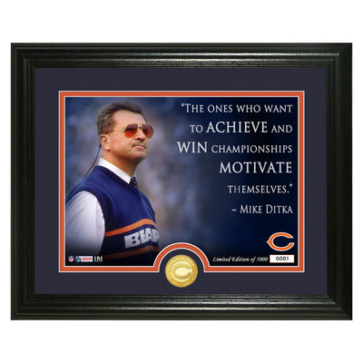 Mike Ditka Hall of Fame Coach