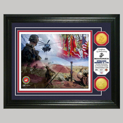 US Marines Photo and Coin Mint