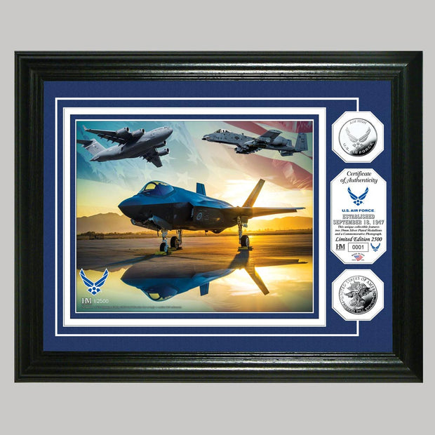 US Air Force Photo and Coin Mint