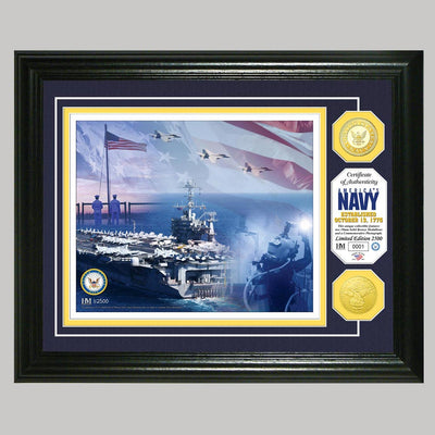US Navy Photo and Coin Mint