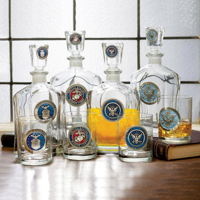 US Military Decanters