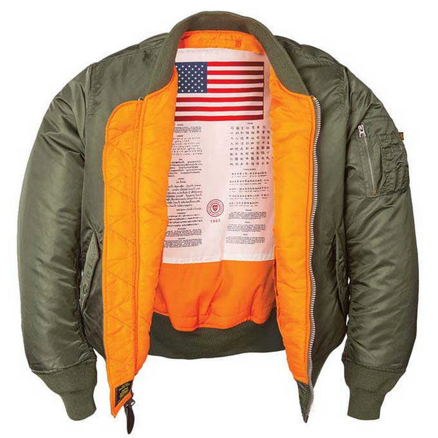 MA-1 Blood Chit Jacket