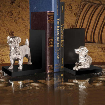 Walker Dog Bookends