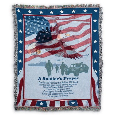 A Soldier's Prayer Throw