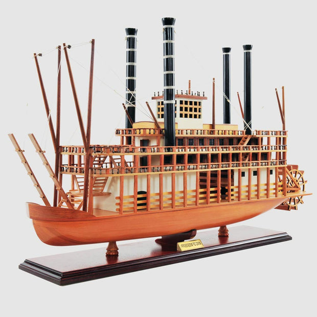 King of Mississippi Model Ship