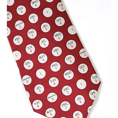 Phone Button Tie