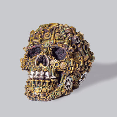 Steampunk Skull - Nuts and Bolts