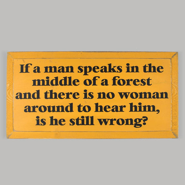 Man Speaks Plaque