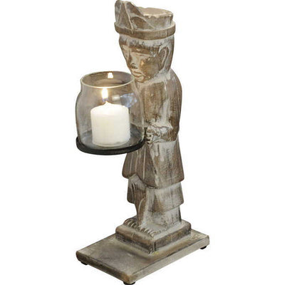Single Man Candle Holder