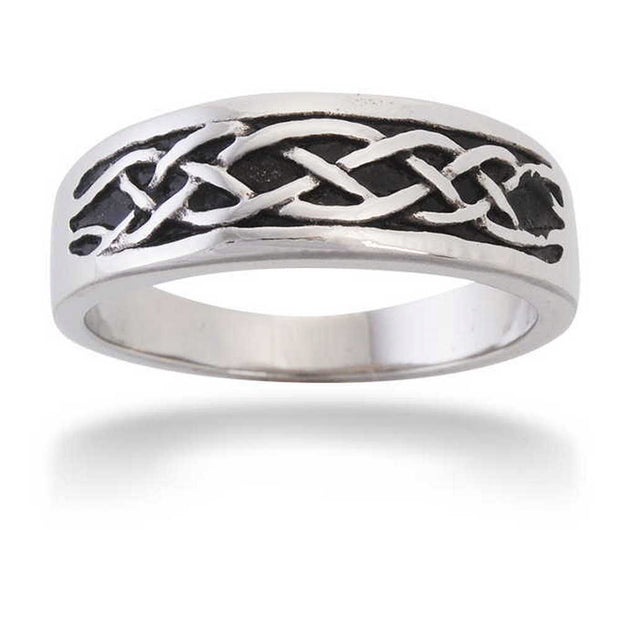 Stainless Steel Celtic Ring
