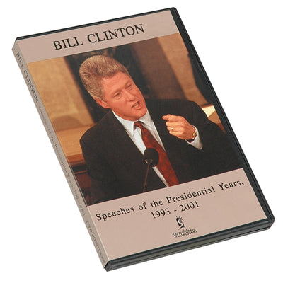 Bill Clinton Speeches of the Presidential Years DVD