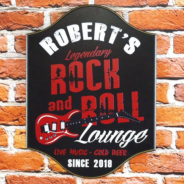 Personalized Rock n Roll Lounge